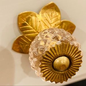 Anthropologie Glass Knobs
